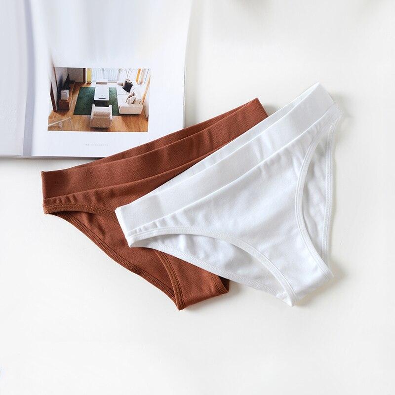 Yeni seksi iç çamaşırı kadınlar için tanga pamuk iç çamaşırı kadın külot samimi pantolon bayanlar düşük dikişsiz külot rahat külot