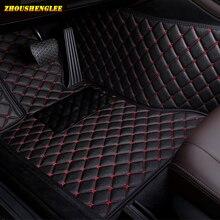 zhoushenglee Make Custom Car floor Mat for SsangYong Korando Actyon Rexton Chairman Kyron Wearproof Carpets car mats