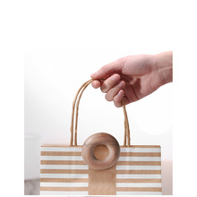 30g creative solid wood food sealing clip kitchen snack bag beech black walnut