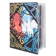 Nuevos estilos 80/240 Uds titular álbum juguetes para regalo Pokemon tarjetas marcadores de libros álbum