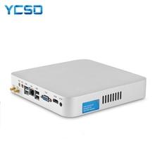 HLY Core i7 7500U i7 4500U i5 4200U מיני מחשב Windows 10 מיני מחשב HTPC minipc HDMI Wifi usb3.0 ביתי מחשב