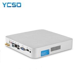 Image 1 - Hly 코어 i7 7500u i7 4500u i5 4200u 미니 pc windows 10 미니 컴퓨터 htpc minipc hdmi wifi usb3.0 가정용 pc