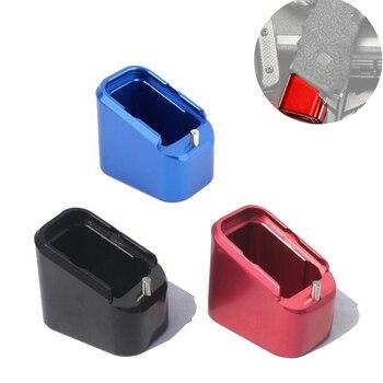 цена на P1 Tactical Magazines Base Pad Kit Fits For IPSC USPUA IDPA Magazine Extension For GLOCK 17, 22, 34, 35