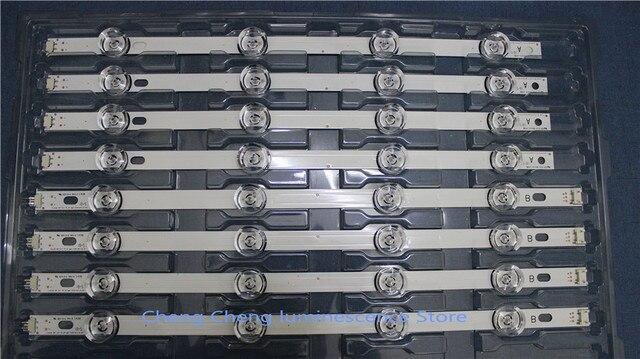 8PCS/set  8 Lamp For LG 42 inch TV INNOTEK DRT 3.0  LG 42LB5610 42LB580V 42LB585V  4PCS A+4PCS B  100%NEW