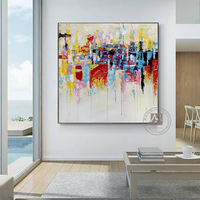 Vintage modern artwork oil painting on canvas handmade NOT PRINTS picture home deco cuadros decoracion dormitorio living room