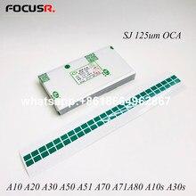 SJ OCA – autocollant adhésif transparent pour téléphone portable, 125um, pour Samsung A71A10 A20 A30 A40 A50 A60 A70 A80