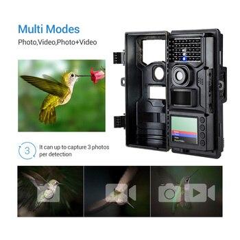 BOBLOV CT006 Trail Camera 20MP 1080p 30fps Scouting Night Vision Trail Hunting Camera CamWildcamera Wild Surveillance Wildlife 4
