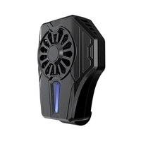 Jogos Smarphone Refrigerador Radiador Portátil Sem Fio Do Telefone móvel Telefone Ventilador de Refrigeração 65-85mm Alça Ajustável