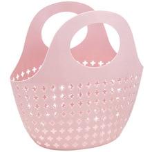 Hollow Storage Basket Sundries Plastic Fashion Portable Toy Jewelry Makeup Organizer Bathroom Kitchen Container
