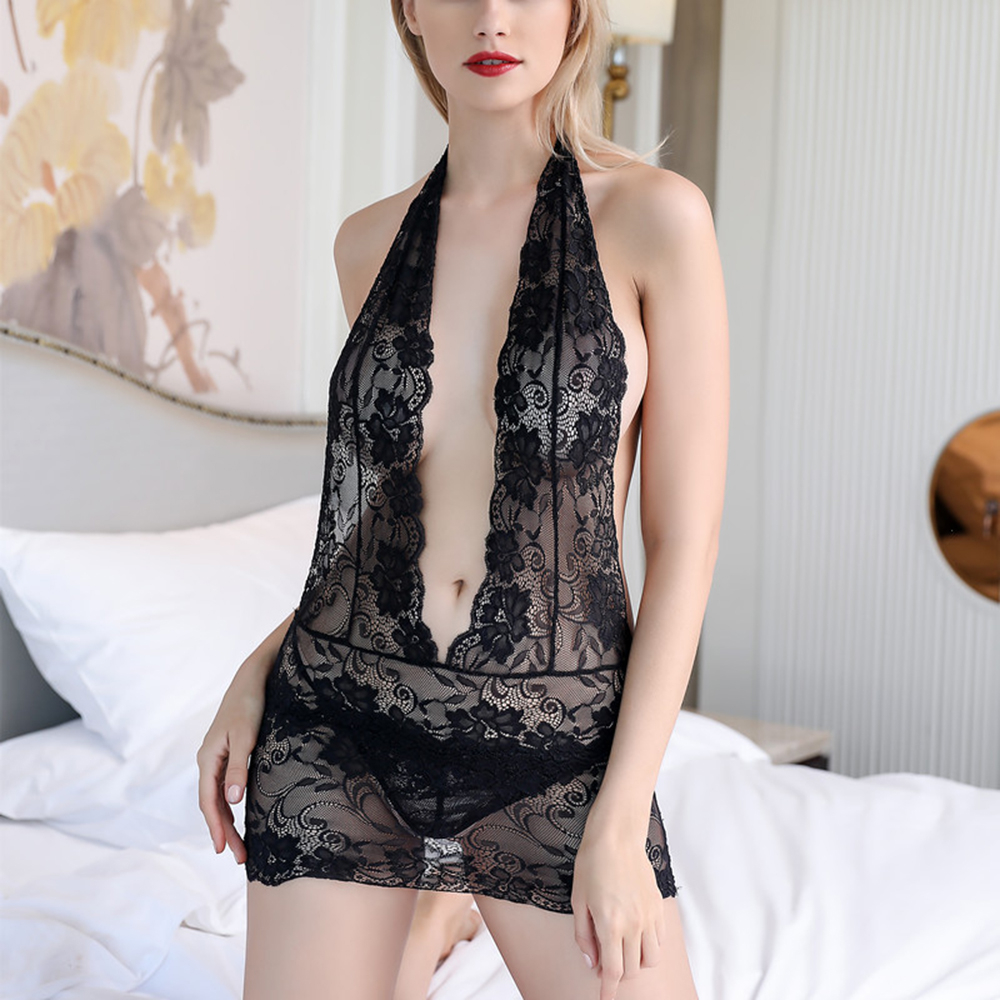 <font><b>Lingerie</b></font> Erotic Plus Size S-<font><b>4XL</b></font> Porn Sex <font><b>Babydoll</b></font> Chemise Transparent Hot Women <font><b>Sexy</b></font> Costumes Underwear <font><b>Lingerie</b></font> <font><b>Sexy</b></font> Sleepwear image