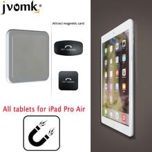 Настенное крепление для планшета, Магнитная подставка, принцип адсорбции магнита, удобство выбора и размещения, поддержка всех планшетов для iPad Pro Air