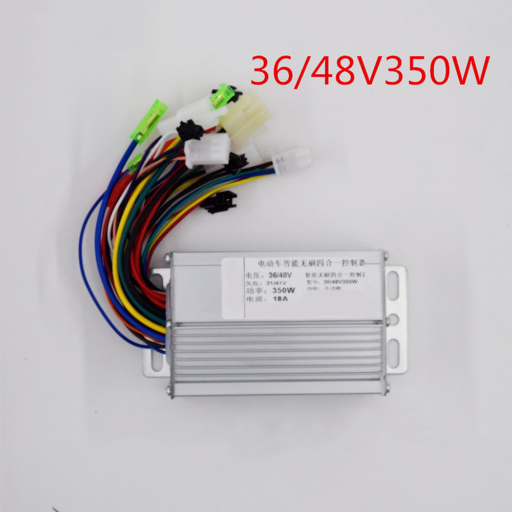 36V 48V 350W Electric Bicycle E-bike Scooter Brushless Direct Current Motor Controller