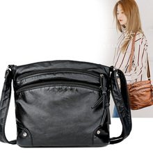 2020 new fashion handbag Korean large-capacity messenger bag pu bag ladies soft leather shoulder bag red wedding pu leather fashion new african shoes and bag set for party italian shoes with matching bag new design ladies bag