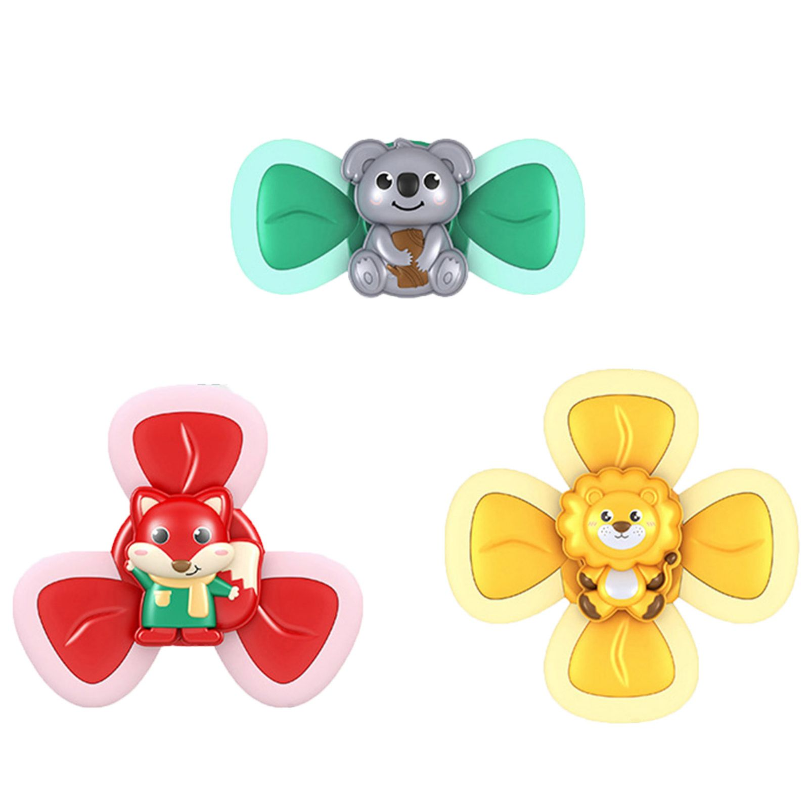 Antistress Toy Fidget-Toys Sucker Relief-Spinner Spinning-Top Dimple-Favors Baby Rotating-Teething