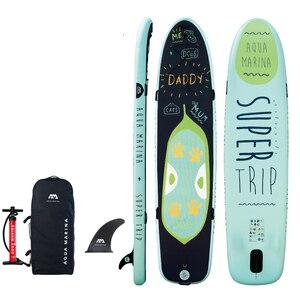 Image 5 - 370*82*15CM AQUA MARINA SUPER REISE aufblasbare sup stand up paddle board aufblasbare surf board surfbrett aufblasbare kajak kamera