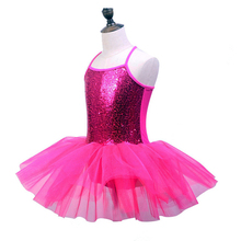 ballet dress dance leotard camisole sequin tutu child professional ballerina dancewear