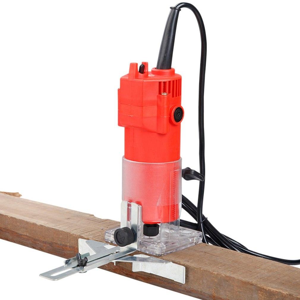 33000rpm Holzbearbeitung Elektrische Trimmer Holz Fräsen Gravur Stoßen Trimmen Maschine Hand Carving Maschine Holz Router