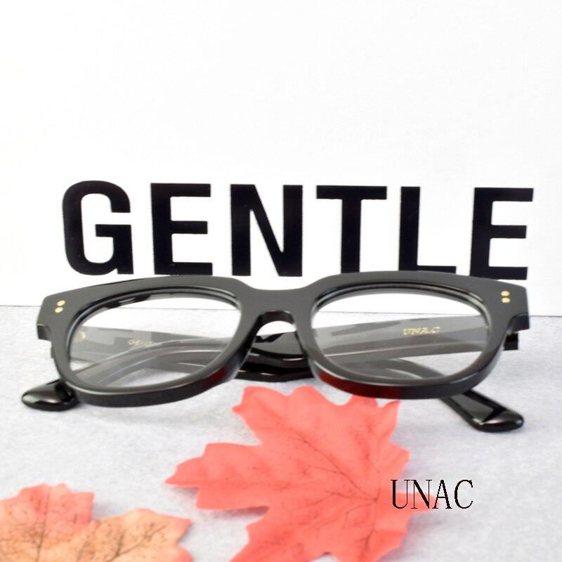 Korea Brand Gentle Designer Eyeglasses Frames UNAC  Big frames  men womens reading Compute glass Frame