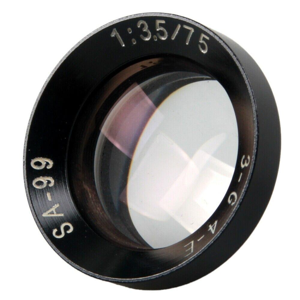 Новая замена Tessar объектив 75 мм f/3,5 для чайки HAIOU 4A 4B 4C 120 TLR камера