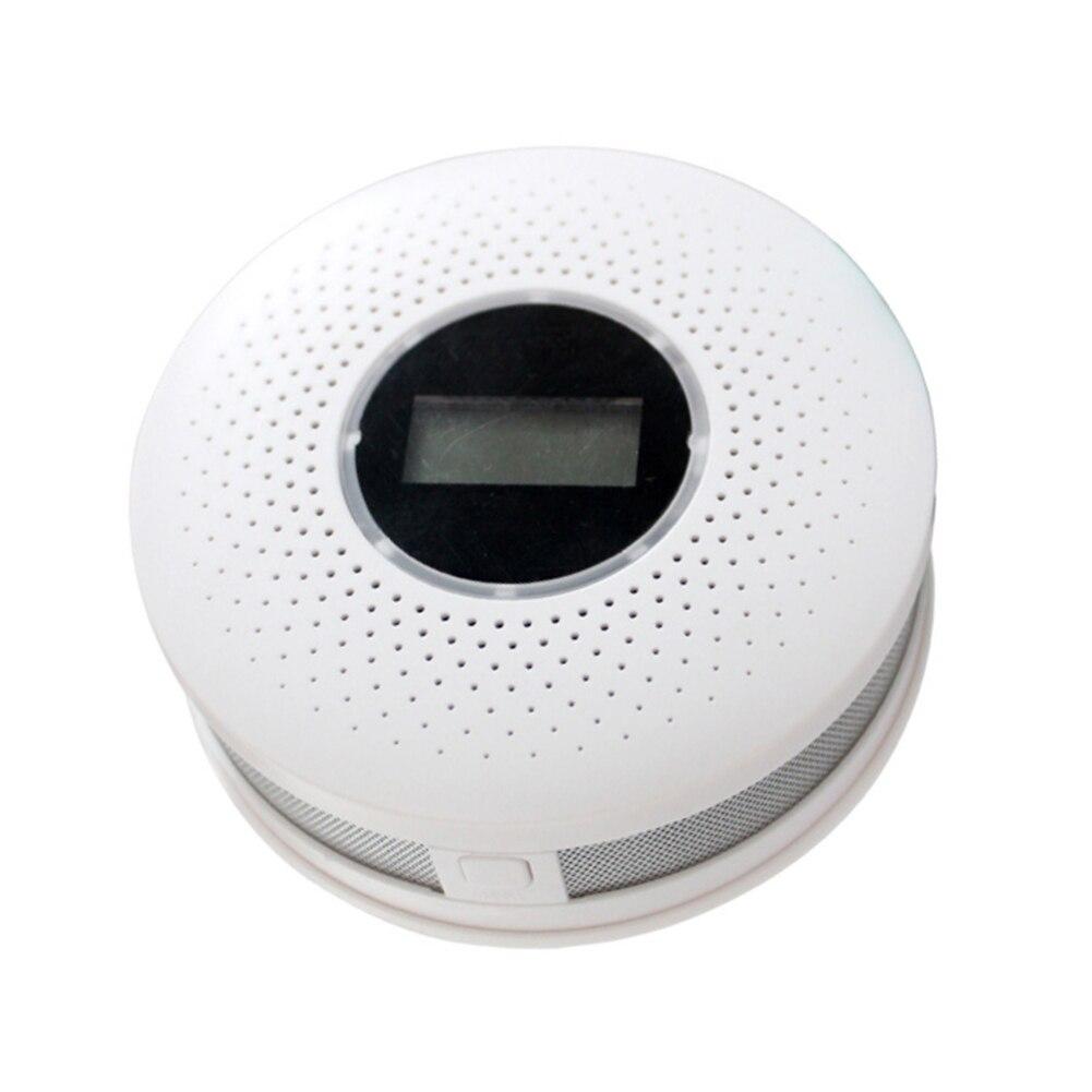 CO Carbon Monoxide Smoke Detector Warning Alarm Poisoning Gas LCD Display Smoke Alarm Smoke Detector