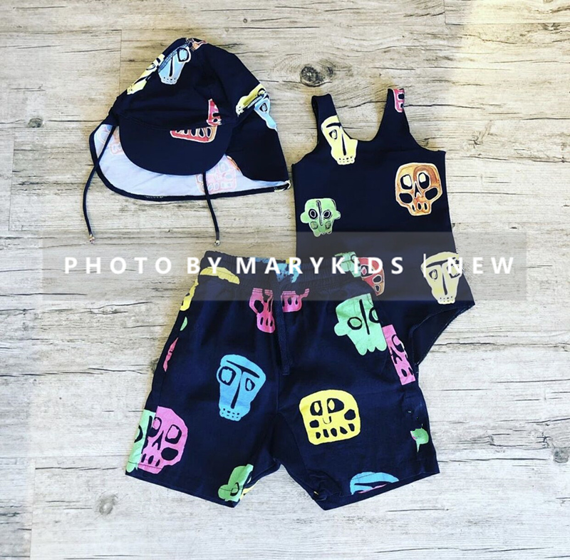 Toddler Girls Boys Swimming Suits New Summer NX Brand Baby Hawaii Clothes Kids Swimwear Children Swimsuits Cute Girl Bikini 2