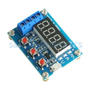 Image 3 - HW 586 1.2v 12v 18650 Li ion Lithium batterie capacité testeur résistance plomb acide batterie capacité mètre décharge testeur
