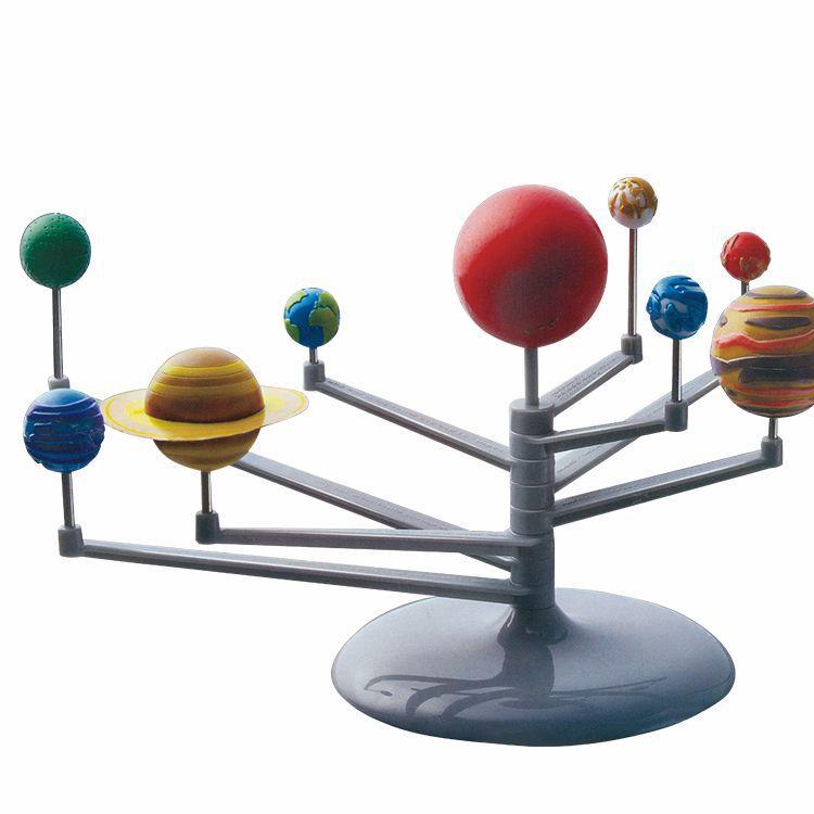 Teenager China Science Publishing & Media Ltd.(cspm) Series Assembly Toy Fun Painted Painting Solar System Planetarium Model Nin|  - title=
