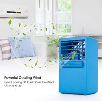 Summer Cool Spray Humidification Mini Electric Fan Air Conditioning Fan Adapter Charger With 24V European Regulations