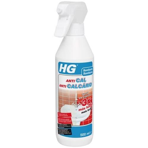 GH HG Spray Anticalcaire X3 en Mousse 0,5 l