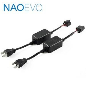 NAO H4 H7 LED CANBUS Ошибка декодера бесплатно H11 HB3 HB4 H1 H3 автомобильный предупреждающий конденсатор ошибки для 9012 9005 9006 светодиодные фары