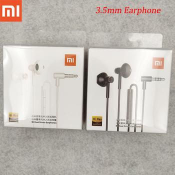 Xiaomi Mi 9 Hybrid DC Seo słuchawki douszne 3 5mm słuchawki z mikrofonem sterowanie przewodem podwójny sterownik dla Mi 10 Lite uwaga 10 Redmi uwaga 9s tanie i dobre opinie Proso tłokowe Dynamiczny Przewodowy Ucho 105dB Brak 1 25m Monitor Słuchawkowe Do Gier Wideo Wspólna Słuchawkowe Dla Telefonu komórkowego