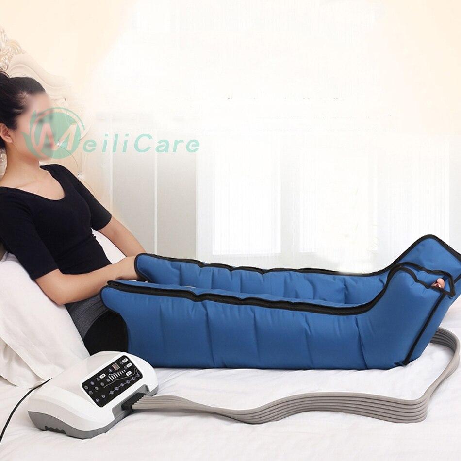 6 wnęka elektryczna kompresja powietrza masażer do nóg talii ramię masażer do stóp ból zrelaksować się promować krążenie krwi