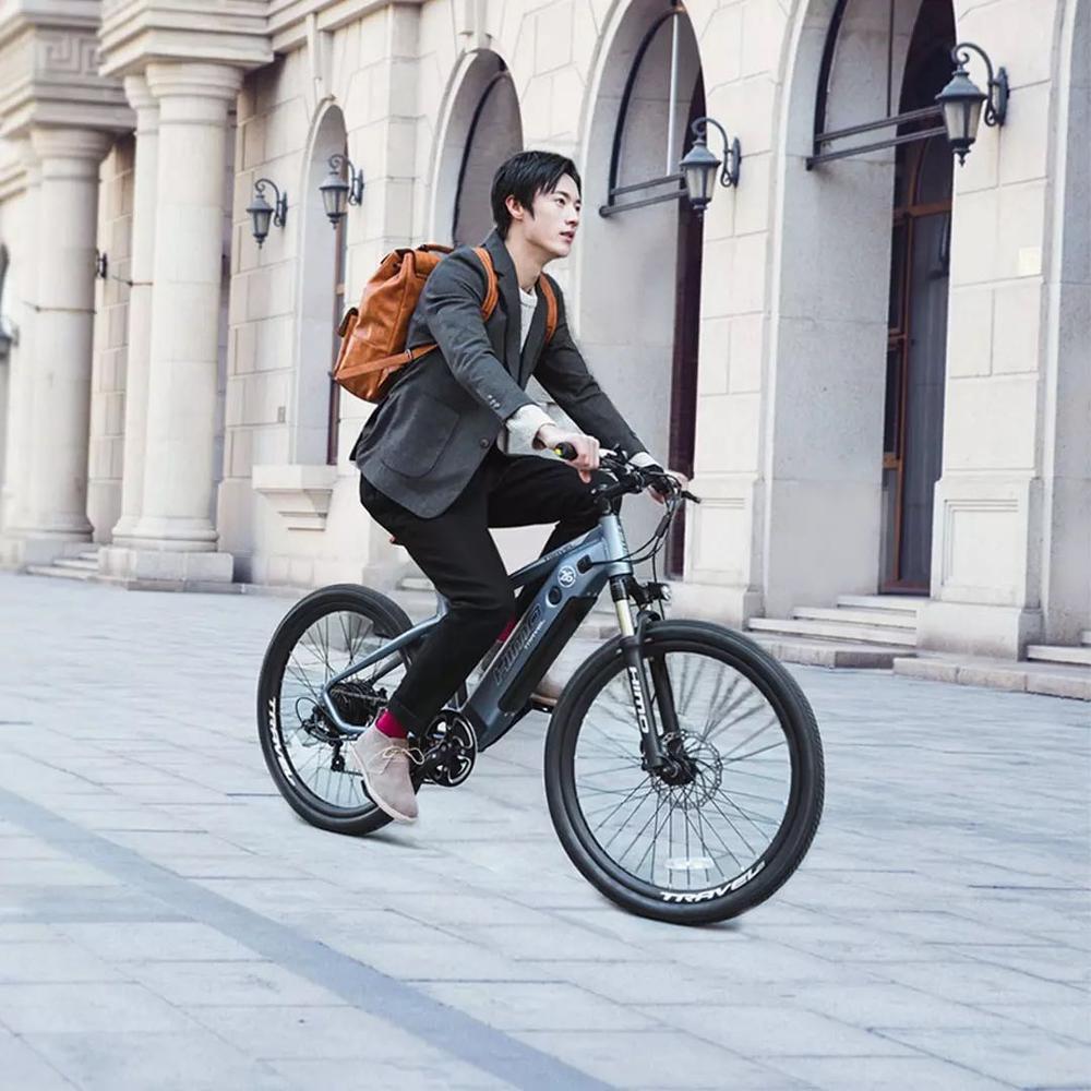 HIMO C26 Elektrische mountainbike 48V versteckte lithium-batterie 250w rear drive motor elektrische fahrrad elektronische radfahren emtb