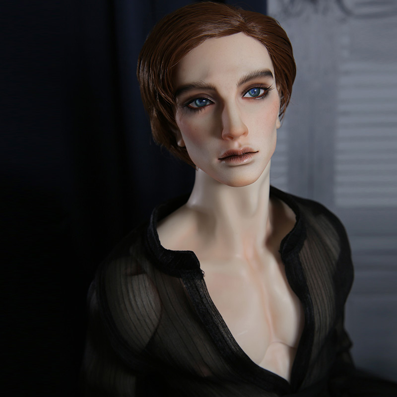 Dollshe 28M Classic Rey Lewis BJD Doll 1/3 Romantic Mysterious Muscular Male High Mobility Ball Jointed Dolls 1