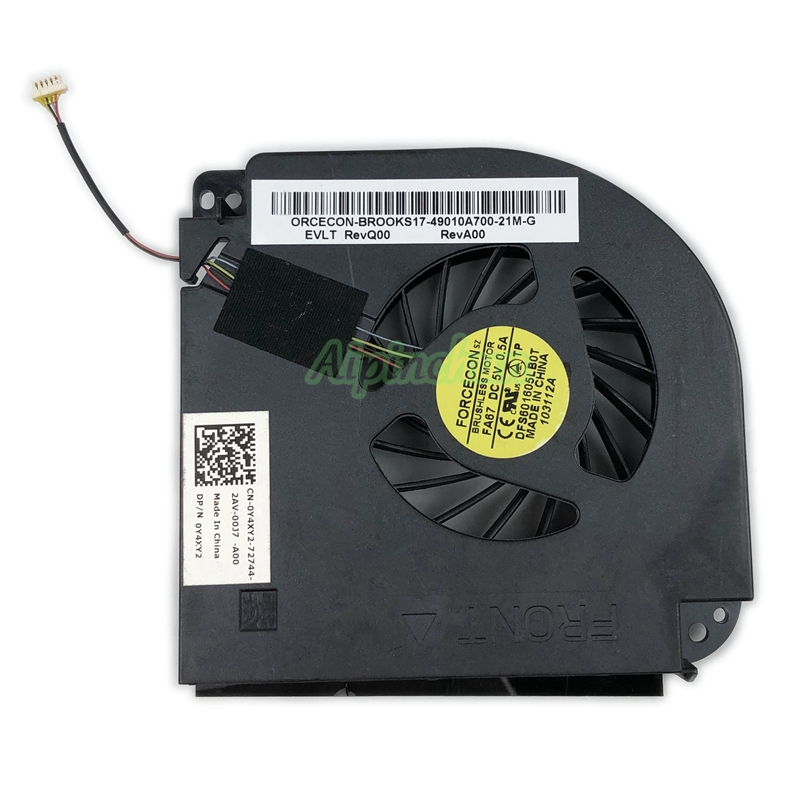 Dell Latitude E5530 9HTYD New CPU Cooling Thermal Fan 09HTYD DC28000AESL