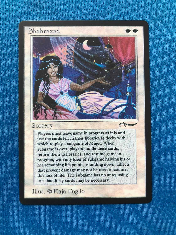 ShahrazadARN Arabian Nights Magician ProxyKing 8.0 VIP The Proxy Cards To Gathering Every Single Mg Card.