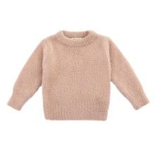 เสื้อกันหนาวเด็กฤดูหนาวสไตล์ใหม่เลียนแบบMinkเสื้อกันหนาว1 3ปีเด็กเสื้อเด็กเสื้อกันหนาว
