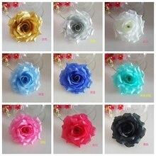 8 cm 10 cm Yapay Güller Çiçek Kafa DIY Düğün Çiçek Duvar Öpüşme çiçek topları Düğün Arka Plan Araba Dekorasyon Flores