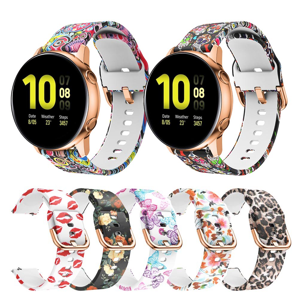 Active2 Silicone Watch Band Strap For Samsung Galaxy Watch Active 2 40mm 44mm Watchband Replacement Sport Bracelet Galaxy 42mm