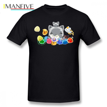 Slime Rancher T Shirt Collecter T-Shirt Cute Short Sleeves Tee 100 Cotton Plus size  Beach Mens Graphic Tshirt