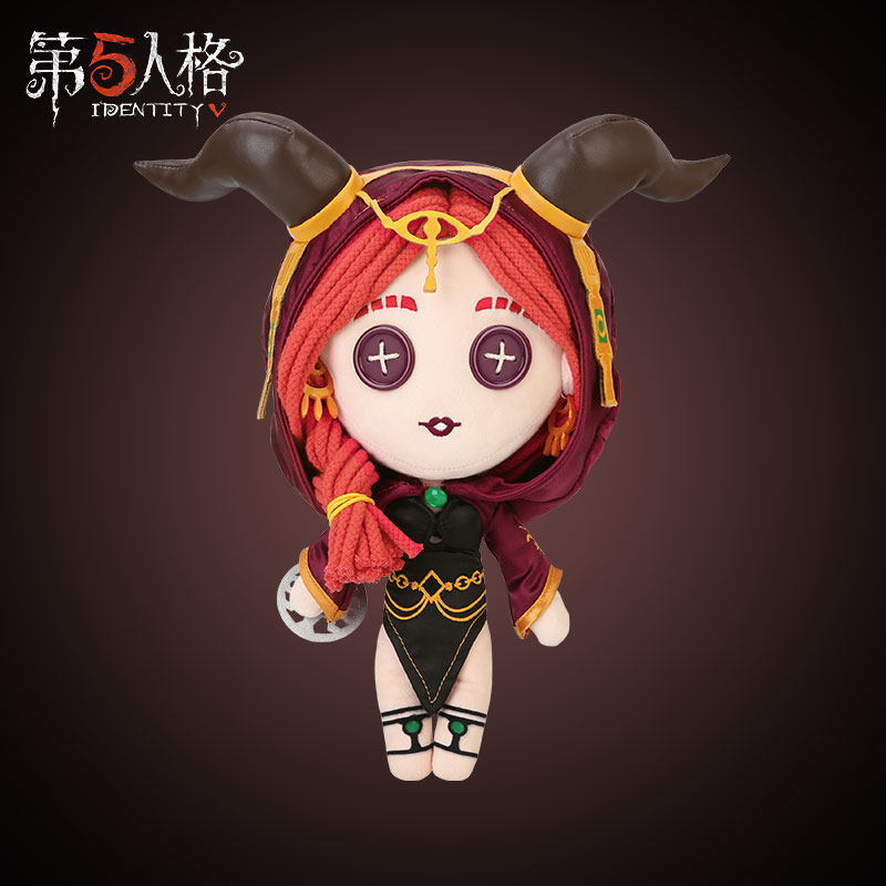 Hot Game Identity V Fiona Gilman Cosplay Pillow Plush Doll DIY Plushie Toy Change Suit Dress Up Clothing Cute Xmas Gifts