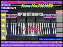 Aoweziic 10 pièces 100% nouveau importé original CSD18502KCS CSD18502 TO 220 transistor à effet de champ 40V 100A