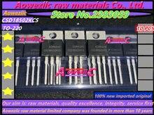 Aoweziic 10PCS 100% 신규 수입 원본 CSD18502KCS CSD18502 TO 220 전계 효과 트랜지스터 40V 100A