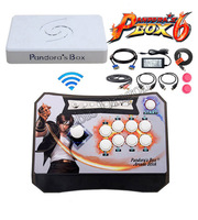 Arcade Controller Kit Pandora Box 6 1300 Wireless Arcade Stick 1300 in 1 HDMI VGA USB to TV PS3 PC Support FNA MAME PS1 3d Game