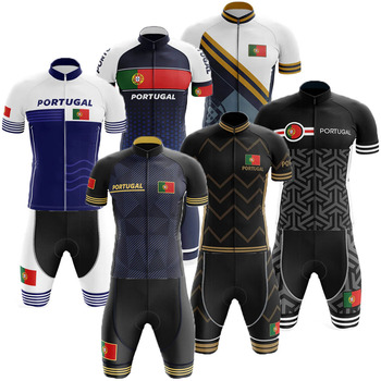 Men's Cycling Clothing Portugal Cycling Jersey Set Summer Bicycle Bib Shorts Road Bike Shirt Suit MTB Wear Bike Jersey Clothes pro cycling jersey set cycling wear for summer mountain bike clothes bicycle clothing mtb bike cycling clothing cycling suit