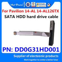 Kabel HDD do HP Pavilion 14-AL126TX 14-AL125TX 071tx 028TX 029TX TPN-Q171 laptop SATA SSD Adapter dysku twardego DD0G31HD001(China)
