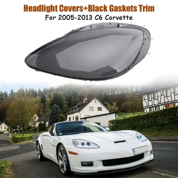 Headlight Replacement Lens Driver Side for Corvette C6 2005 2006 2007 2008 2009 2010 2011 2012 2013