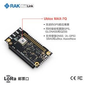 Rak2245lora gateway stamp módulo, com base em sx1301 integrado módulo gps rak831 versão atualizada