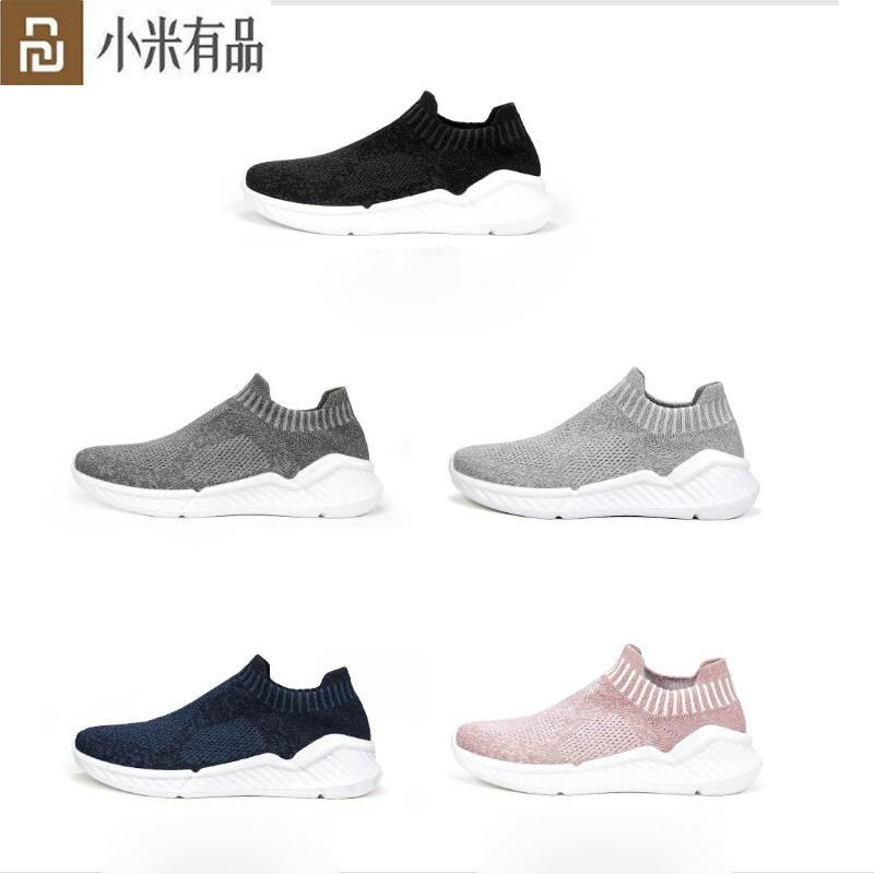 New Youpin FREETIE Walking Shoes Flying Woven Sneaker Waterproof Breathable One-piece Socks Walking Shoe Couple  Casual Shoes