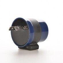 цена на 1Pc DC 6V 12V Input Motorcycle Inbuilt Beeper Flasher Turn Signal LED Blinker 2 Pins Motor Buzzer Flasher Relay Indicator Blue